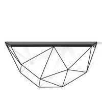 Black Geo Shelf Large