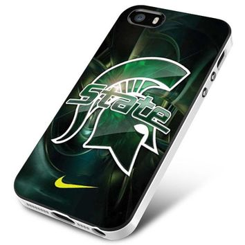 Michigan State nike iPhone 5 | 5S | 5SE Case Planetscase.com