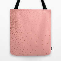 Faded Dots Tote Bag by Georgiana Paraschiv