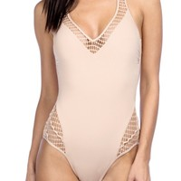 Kenneth Cole New York Wrapped in Love One-Piece Swimsuit | Nordstrom