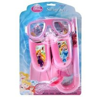 Swim Set - Disney - Princess - on Blister Card 3 pc