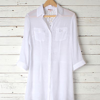 Angelica Shirtdress Cover Up