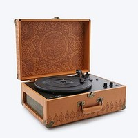 Crosley Keepsake Embossed Turntable UK Plug - Urban Outfitters