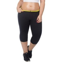 New Hot Shapers Plus-Size Slimming Pants Women's Weight Loss Compression Slimming Shorts Hot Thermal Body Slim High-Waist Capris