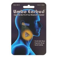 Umbo Earbud (Discontinued Search for 855095002022) for - Best Fitting Ergonomic Earbud for Bluetooth and Other Wireless Headsets.