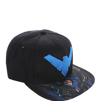DC Comics Nightwing Snapback Hat
