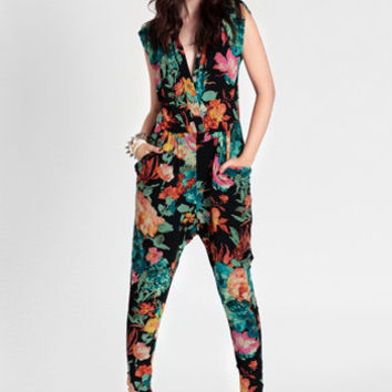 Ziggy Disco Jumpsuit By Gypsy Junkies - $118.00 : ThreadSence, Women's Indie & Bohemian Clothing, Dresses, & Accessories
