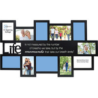 Walmart: Mainstays 11-Opening Expressions Collage Frame, Black