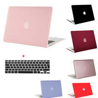 MOSISO Crystal Matte Plastic Hard Case Cover for Macbook Pro 13.3 15.4 Pro Retina 13 15 inch for Macbook Air 13 11 Laptop Shell