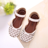 New arrival girls sandals high quality fashion cute summer kids sandals designer casual girls shoes