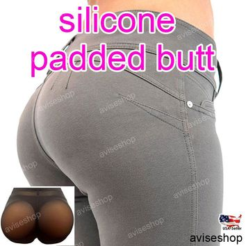 Women secret #1 Silicone Buttocks Pads Butt Enhancer body Shaper Panty Tummy Control Girdle hip up