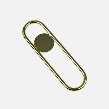Disco Bottle Opener - Brass