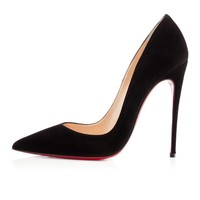 CHRISTIAN LOUBOUTIN So Kate 120mm Suede