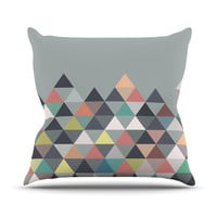 "Mareike Boehmer ""Nordic Combination"" Throw Pillow, 16"" x 16"" - Outlet Item"