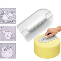 Hot sales Cake Smoother Polisher Tools Cutter Decorating Fondant Sugarcraft Icing silicone Mold