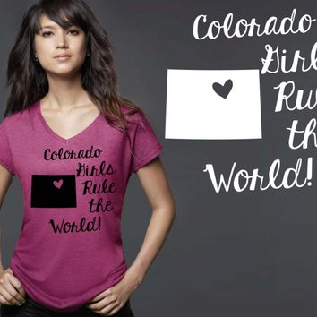 Colorado Girls T-shirt | Colorado State