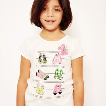Mini Voiz Doll's Shoes and Heels T Shirt