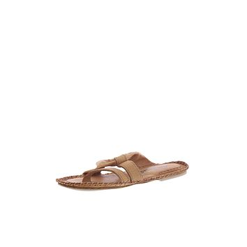Free People Bailey Slip On Sandals Taupe