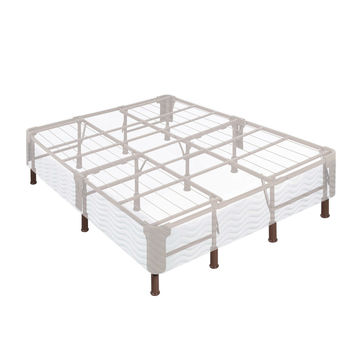 14-inch 2-in-1 Box-Spring Foundation Bed Frame in King Size