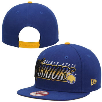 Golden State Warriors New Era Transfade 9FIFTY Snapback Adjustable Hat – Royal Blue