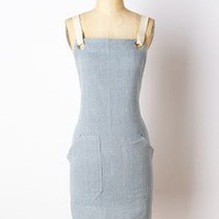 Farine Apron by Anthropologie in Blue Size: One Size Aprons