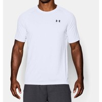 Under Armour Tech Style T-Shirt Loose Fit, White, Neon (Size L, XL)