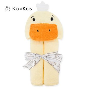 Baby Bath Hooded Cartoon Towel