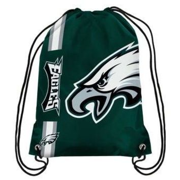 Philadelphia Eagles Drawstring Bag / Backpack