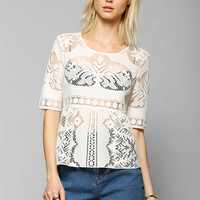 DV By Dolce Vita Calidora Lace Top - Urban Outfitters