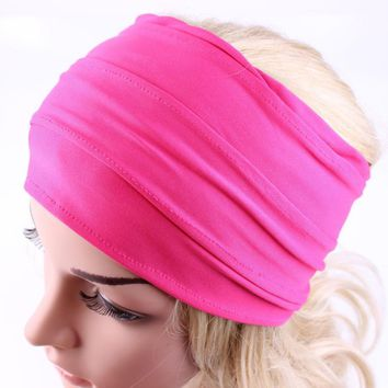 JECKSION fitness Headband Women Wide Headband Boho Headband sporting Headband #LSN