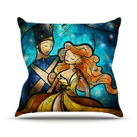 "Mandie Manzano ""Nutcracker"" Throw Pillow"
