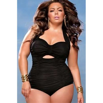 Sexy One-piece Swimsuit  One-piece - Plus Size XXL,XXXL,XXXXL,XXXXXL