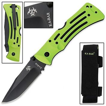 Ka-Bar Zombie Killer - Mule Knife - Plain Edge