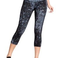 """Women's Old Navy Active Printed-Compression Capris (20"""")"""