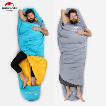 Naturehike Sleeping Compression Bag Mummy Type Thermal Warm Adult Single Winter Camping Waterproof Professional Solid Carry Bag