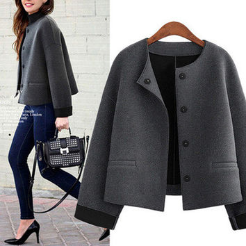 women coats dress plus size clothes XL -5XL [9928468940]