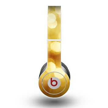 The Glistening Golden Unfocused Light Speckles Skin for the Beats by Dre Original Solo-Solo HD Headphones