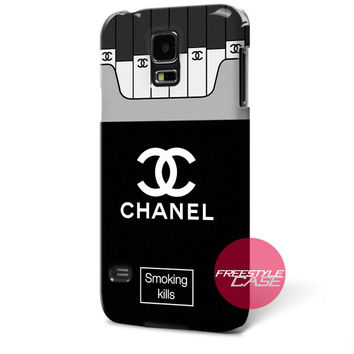 Chanel Coco Smoking Kills Samsung Galaxy Case Cover Series