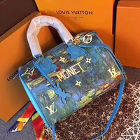 Beauty Ticks Lv Louis Vuitton Lv Women's Canvas Speedy 30 Handbag Shoulder Bag #3664