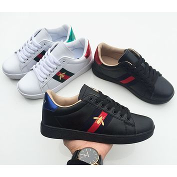 Gucci Old Skool Women Men Fashion Embroidery Sneakers Sport Shoes