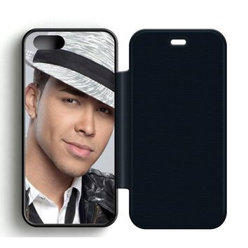 Prince Royce Hat Leather Wallet Flip Case iPhone 5 | 5S