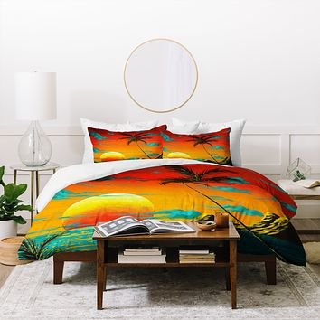Madart Inc. Tropical Burn Duvet Cover