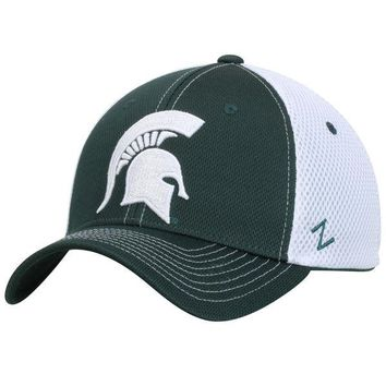 Michigan State Spartans Zephyr Rally Flex Hat