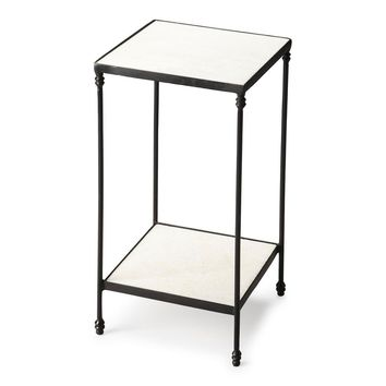 Larkin Transitional Square Accent Table Multi-Color