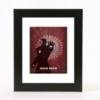 iron man 8x10 poster wall art print