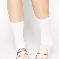 ASOS Barbie And Ken Ankle Socks