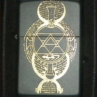 "Full Metal Alchemist- ""Flame Array""- Laser-Engraved Lighter"
