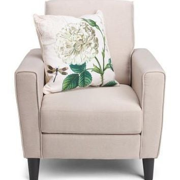 Thro by Marlo Lorenz Linen Down Floral Pillow