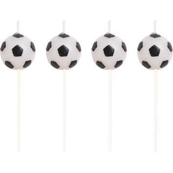 Soccer Party Birthday Candles, Soccer Ball Candles, Sports Party Dinnerware, Cake Candles