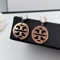 8DESS Tory Burch Women Fashion Ear Studs Earrings Jewelry